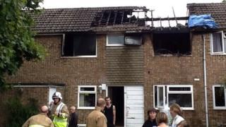 Bracknell Vandyke house fire