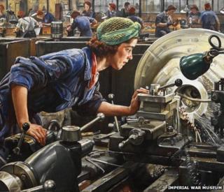 Ruby Loftus screwing a Breech-ring