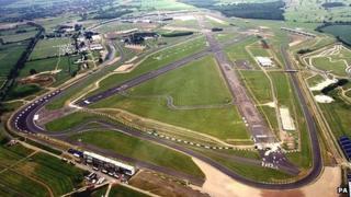 Silverstone racing circuit
