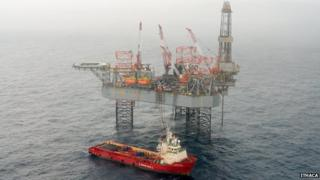 Ensco 100 drilling unit