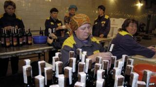 Winery in Milestii Mici, Moldova - file pic