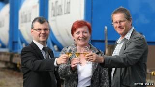 Tony Jarvis, Fiona Murdoch and Frank Roach