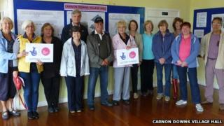 The village hall committee