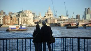 River Thames on South Bank