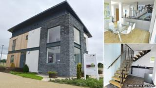 Resource efficient house at Ravenscraig