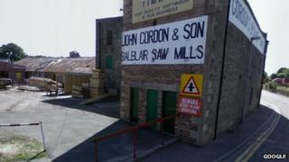 John Gordon and Sons sawmill