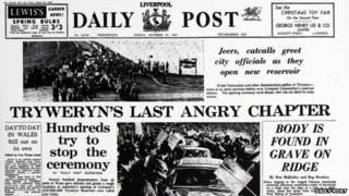Tryweryn protest - Daily Post