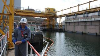Chris Jackson at Sellafield