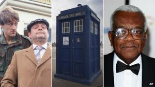 Only Fools and Horses, Doctor Who and Trevor McDonald