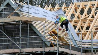 House building in Derbyshire