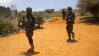 Amisom troops have been deployed to hunt for al-Shabab fighters in southern Somalia. Photo by Dominic Hurst.