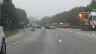 A303 crash, Thursday, 26 Sept 2013