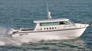 Nauti Ferry designer's mock-up