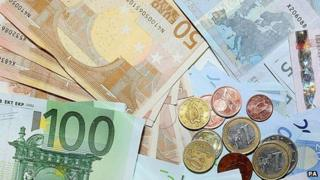 Euro cash - file pic