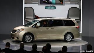Sienna minivan