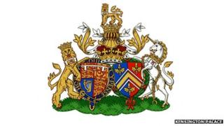 The Duke and Duchess of Cambridge's new coat of arms