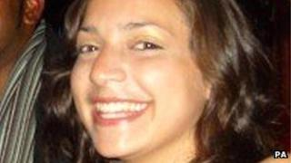 Undated handout photo of Meredith Kercher