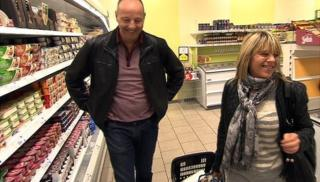 Shirley Scott takes Chris Jackson on a budget food shopping trip