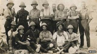 Sc1296: Worcestershire Yeomanry in Egypt, 1917