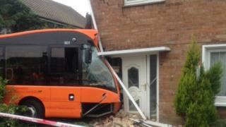 Bus in Beresford Road
