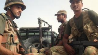 Pakistani troops in Balochistan, October 2013.