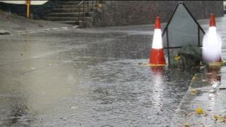 Flooding in Truro