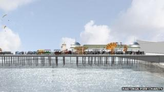 Proposed renovated pier