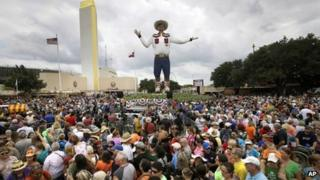 Big Tex at the Texas State Fair