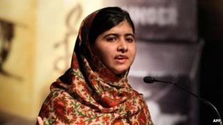Malala Yousafzai, 17 Sep 13