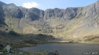 Devil's Kitchen from Cwm Idwal