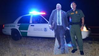Eric Pickles cut out at El Paso in Texas