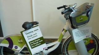 A Slough hire bike