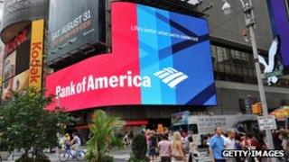 A Bank of America advert