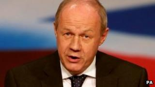 Police Minister Damian Green