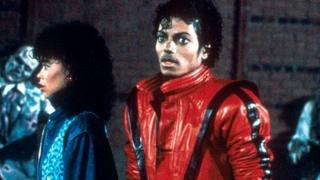 Michael Jackson in the video for Thriller in 1983