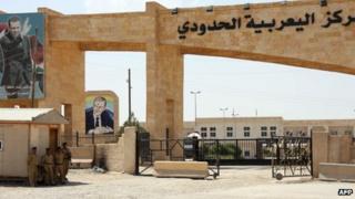 The Yarubiya border crossing between Syria and Iraq, close to the northern Iraqi city of Mosul (23 July 2012)