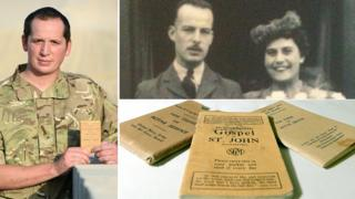 Cpl David Coles, Henry and Mary Collins and military bible