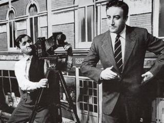 Graham Stark and Peter Sellers