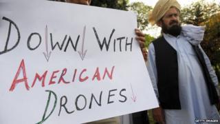 Drones protest - PAKISTAN