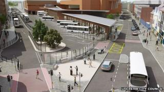 new plans for Haymarket Bus Station