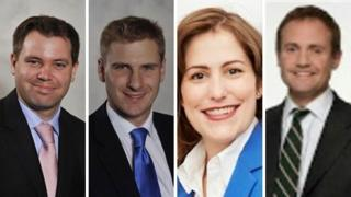 Left to right: Ed Argar; Chris Philip; Victoria Atkins; Tom Tugendhat