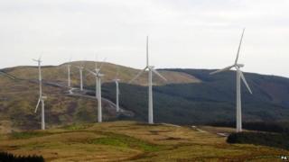 Cefn Croes wind farm near Aberystwyth