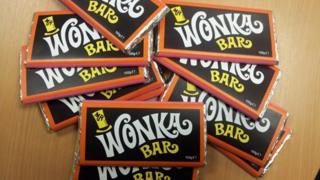Fake Wonka bars