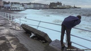 Storm at Aberystwyth