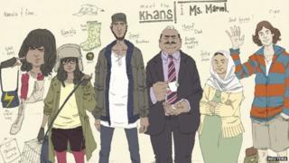 The new Marvel comic family