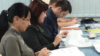 Students study Hungarian language in Serbia