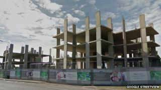 Colnbrook bypass Heathrow Gateway development