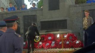 Remembrance Day in Guernsey