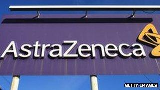 AstraZeneca sign