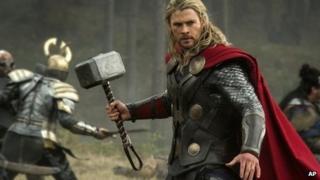 Chris Hemsworth in Thor: The Dark World